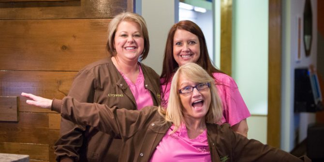 Fergus Orthodontics Jonesboro Arkansas Teams Candids 1 670x335 - We Love Doing Braces in Jonesboro