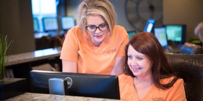 Fergus Orthodontics Jonesboro Arkansas Teams Candids 50 670x335 - Not Just Braces. Caring for patients is our passion.